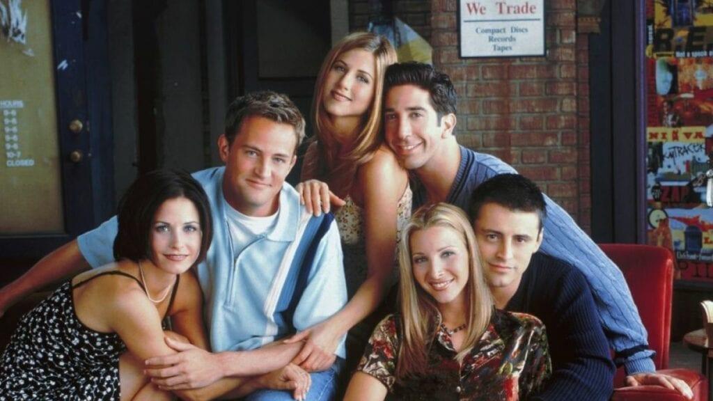 Friends Jennifer Aniston Matt LeBlanc Matthew Perry Lisa Kudrow David Schwimmer Courteney Cox