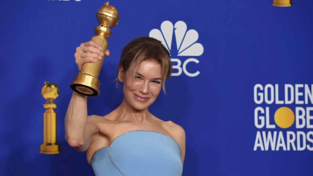 Renée Zellweger Judy Golden Globes