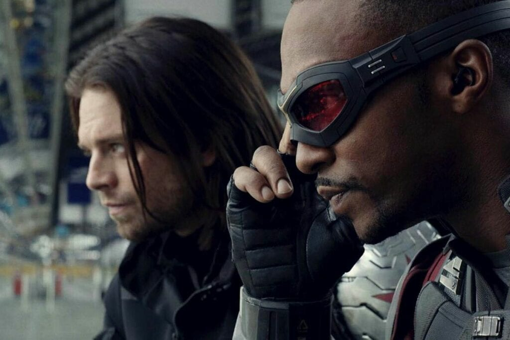 Falcon and the Winter Soldier Disney+ Set