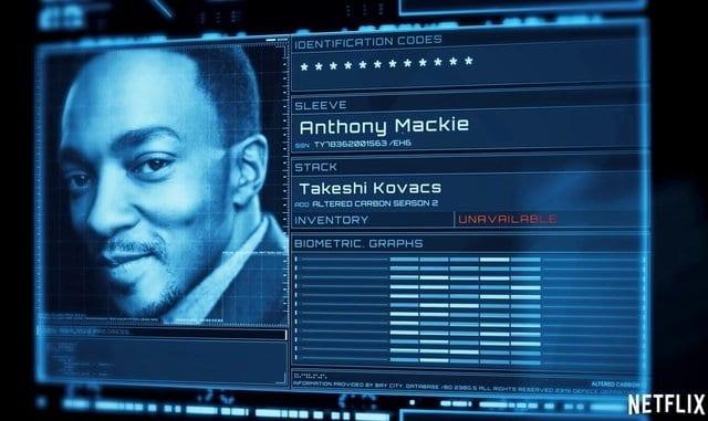 Altered Carbon Segunda Temporada Anthony Mackie