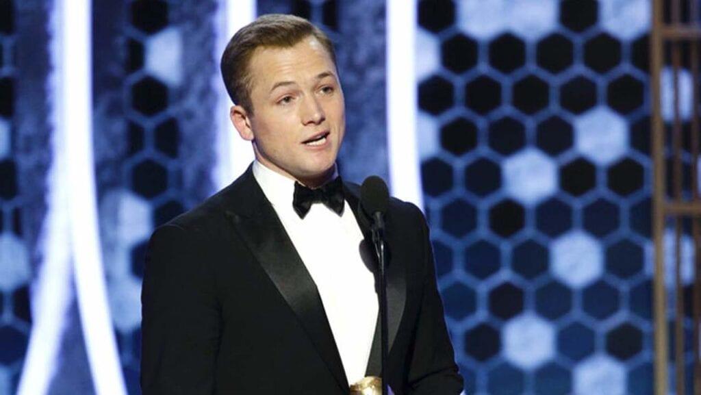 Taron Egerton Rocketman Golden Globes