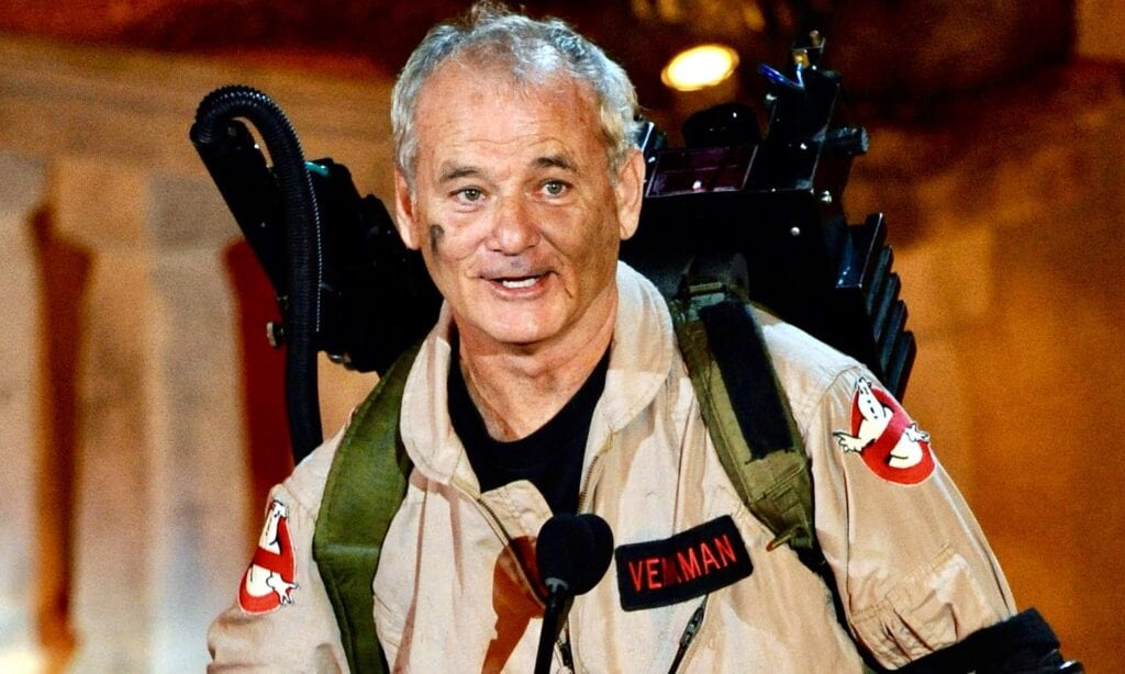 Bill Murray Ghostbusters 3 afterlife