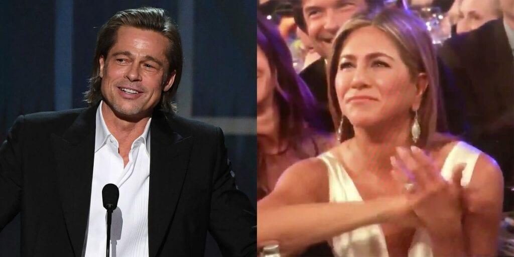 Jennifer Aniston Brad Pitt SAG premios