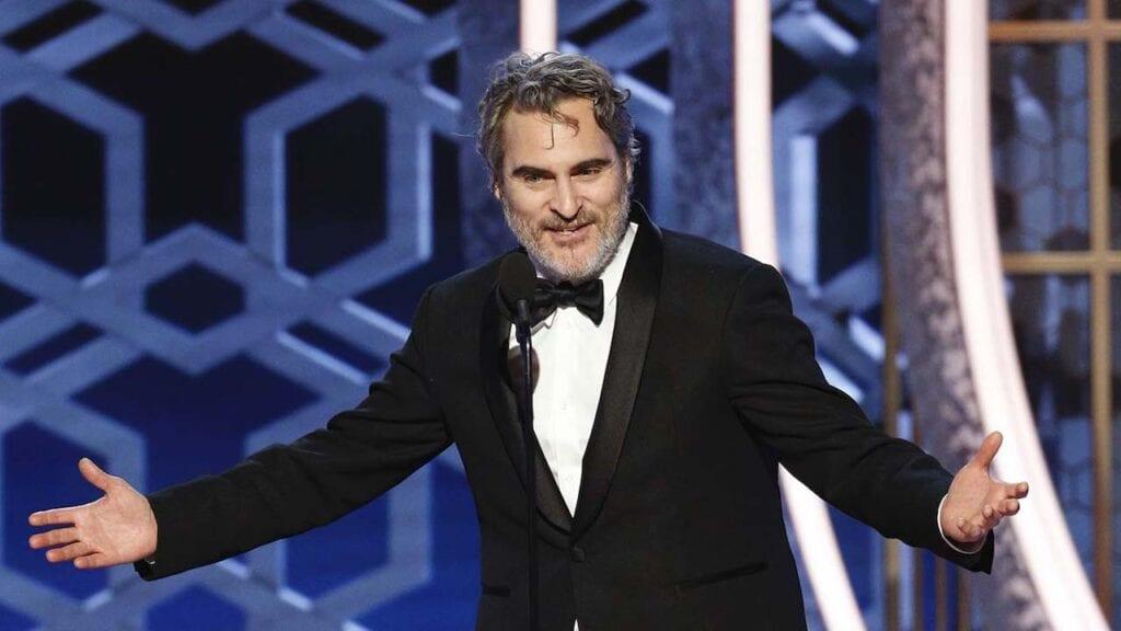 Joker Golden Globes Joaquin Phoenix