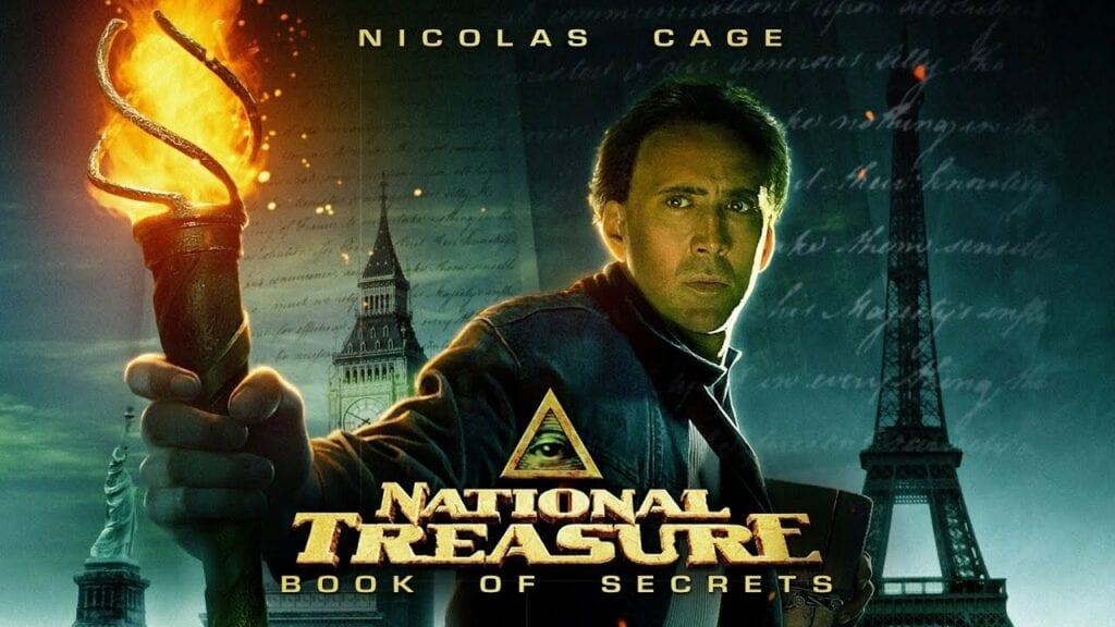 La leyenda del tesoro perdido Nicolas Cage