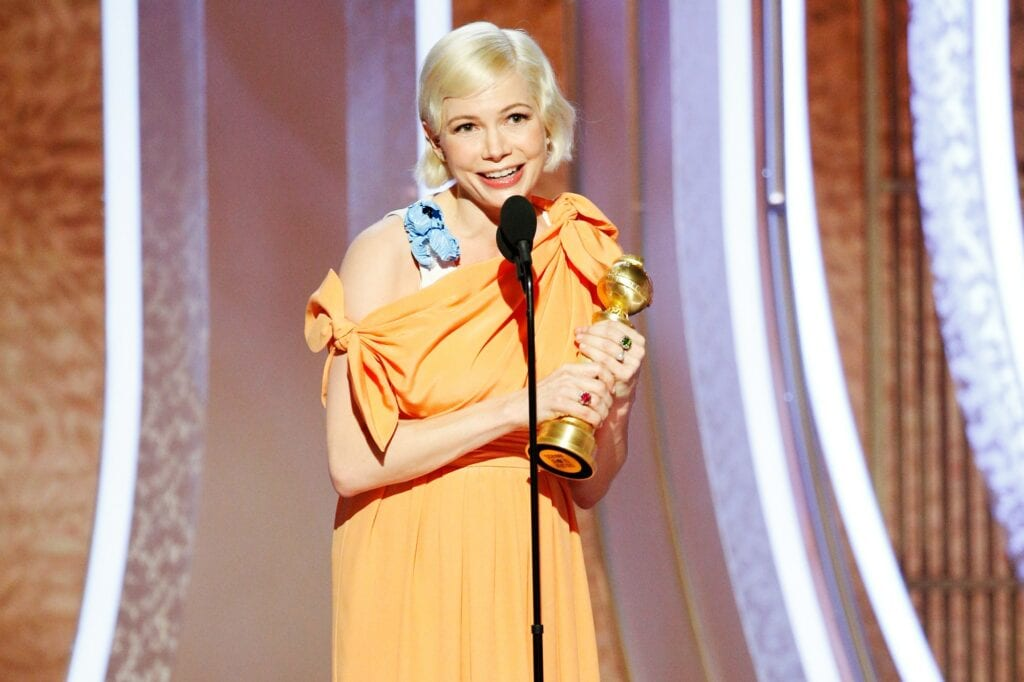 Michelle Williams Golden Globes Fosse/Verdon