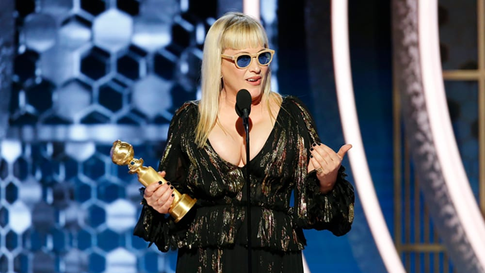 Golden Globes Patricia Arquette The Act