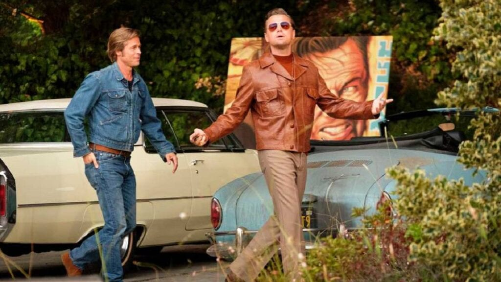 once upon a time in hollywood leonardo dicaprio y brad pitt