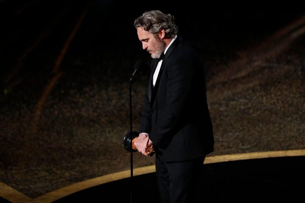 Joaquin Phoenix Lácteos Oscars Oscars 2020