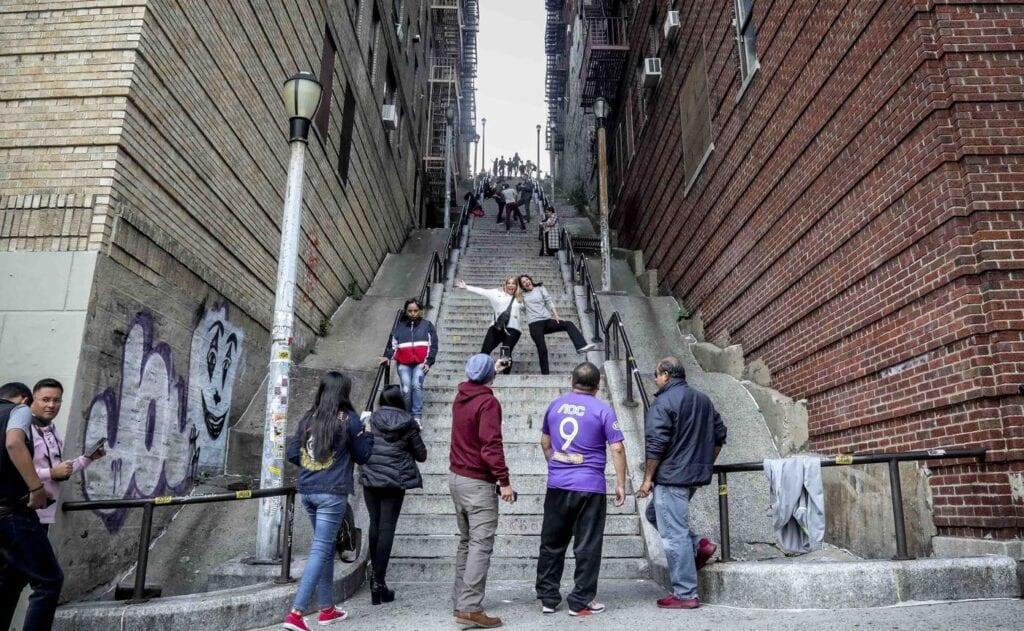 Bronx Escaleras Joker Burguer King