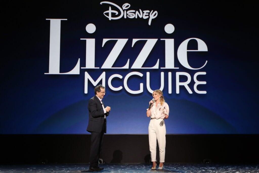 lizzie mcguire hilary duff disney+