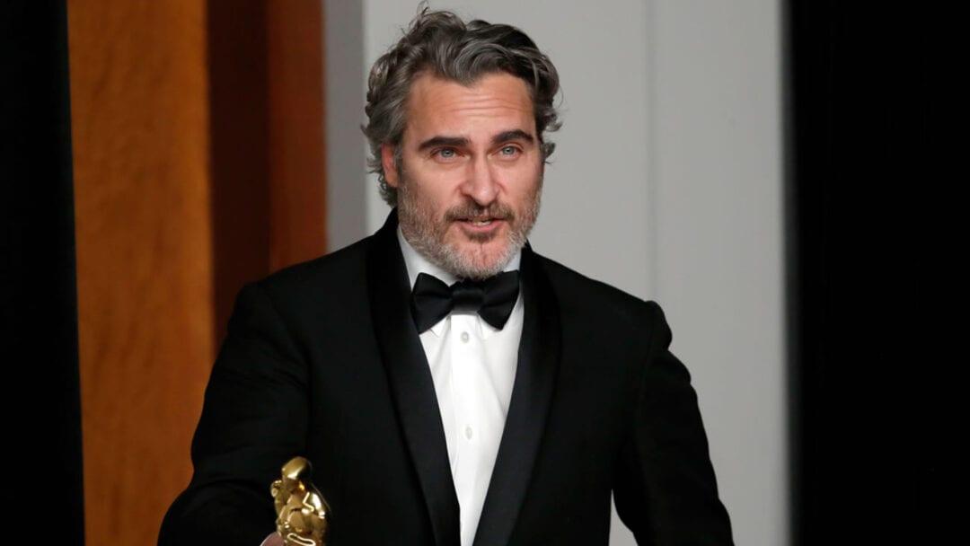 Joaquin Phoenix lacteos Oscars 2020