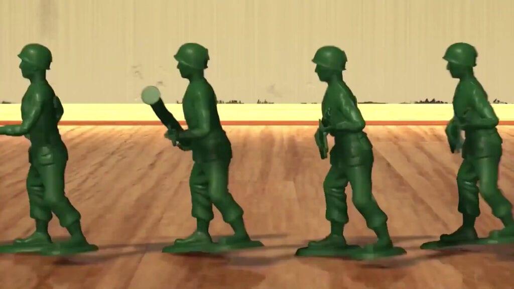 Toy Story soldados