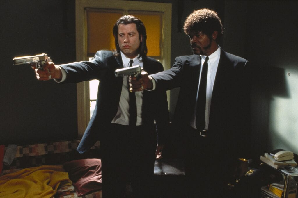 once upon a time in hollywood pulp fiction