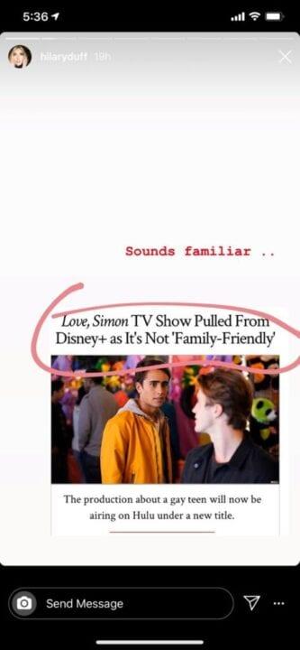 hilary duff love simon lizzie mcguire