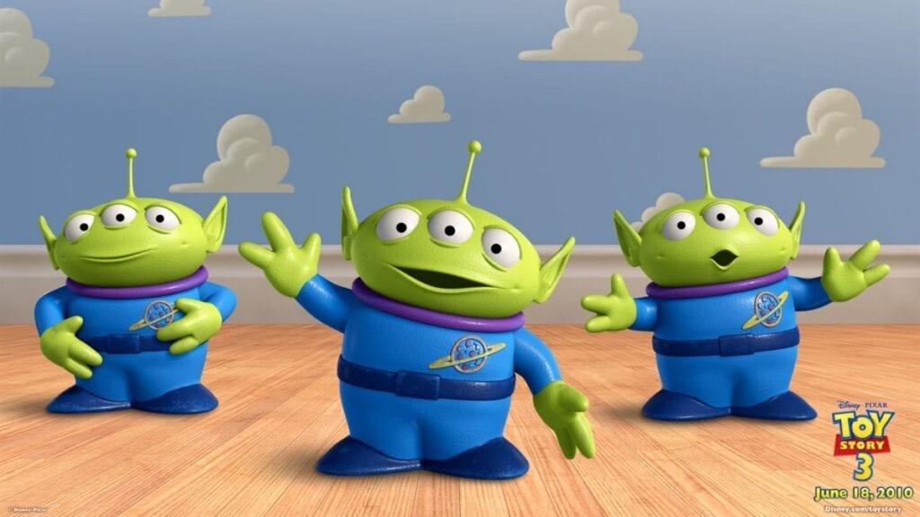 Toy Story marcianos john lasseter
