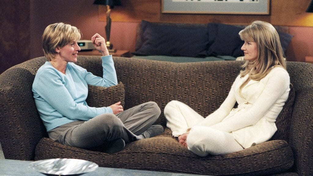 Laura Dern Ellen DeGeneres