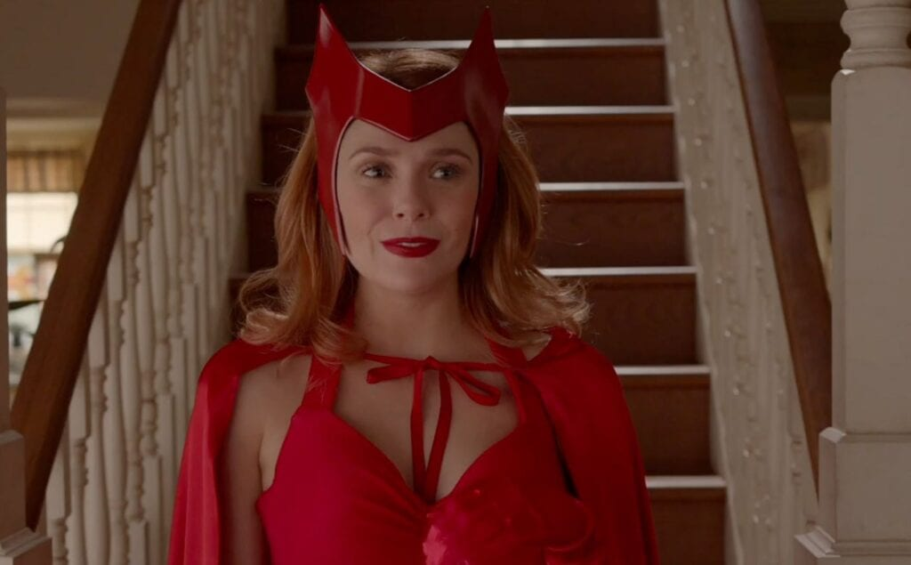 WandaVision Elizabeth Olsen Scarlet Witch