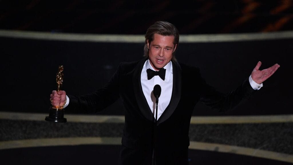 Brad Pitt Oscar mejor actor de reparto