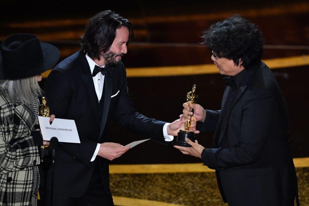 Bong joon ho mejor guión original Oscar parasite