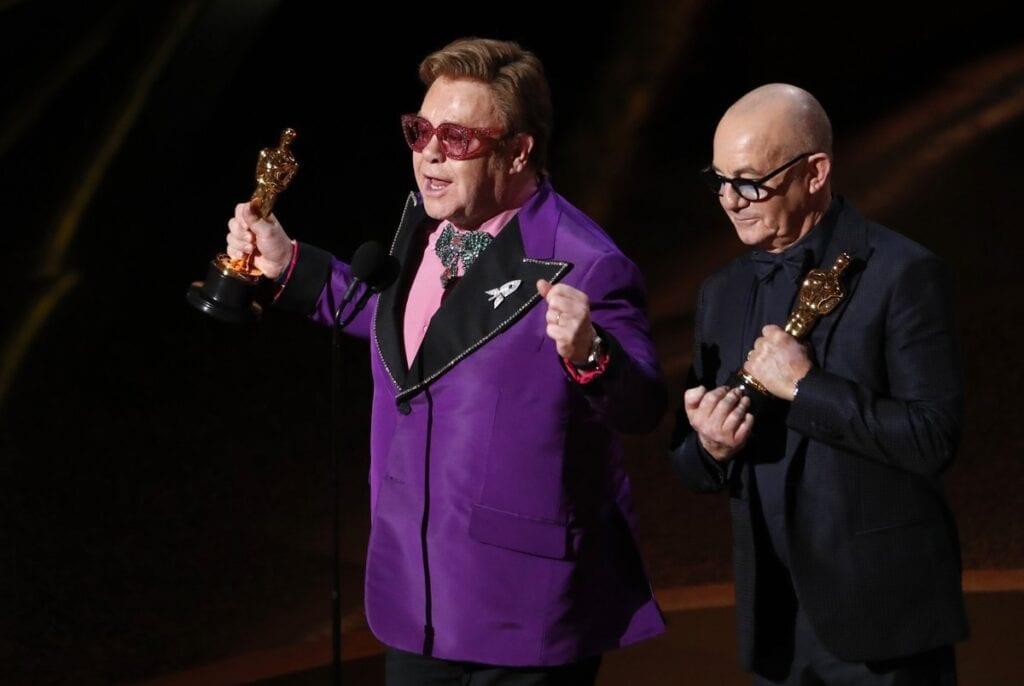 Elton John rocketman Oscar mejor canción