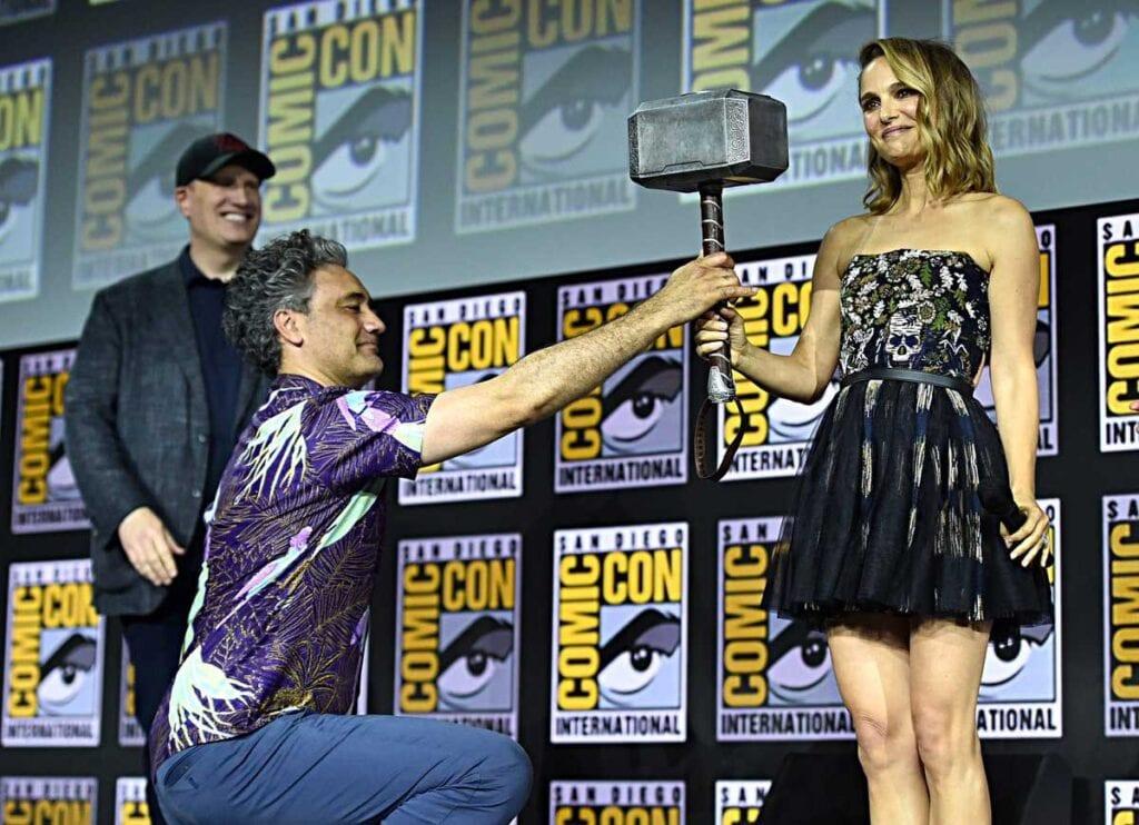 Taika waititi natalie Portman Thor martillo