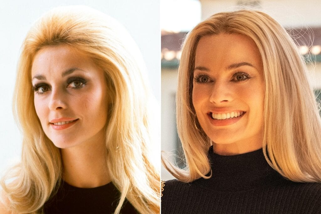 once upon a time in hollywood margot robbie sharon tate