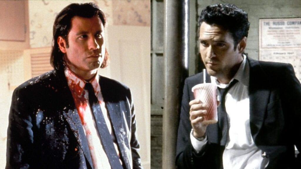 Pulp Fiction Reservoir Dogs Quentin Tarantino John Travolta Michael Madsen