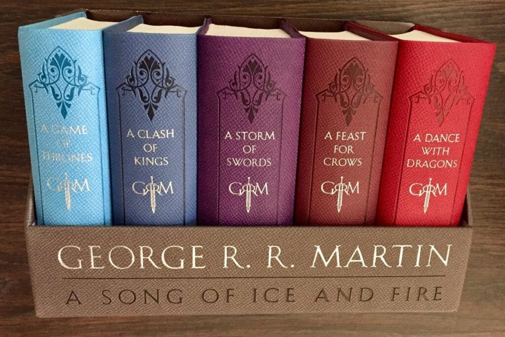 game of thrones george r r martin