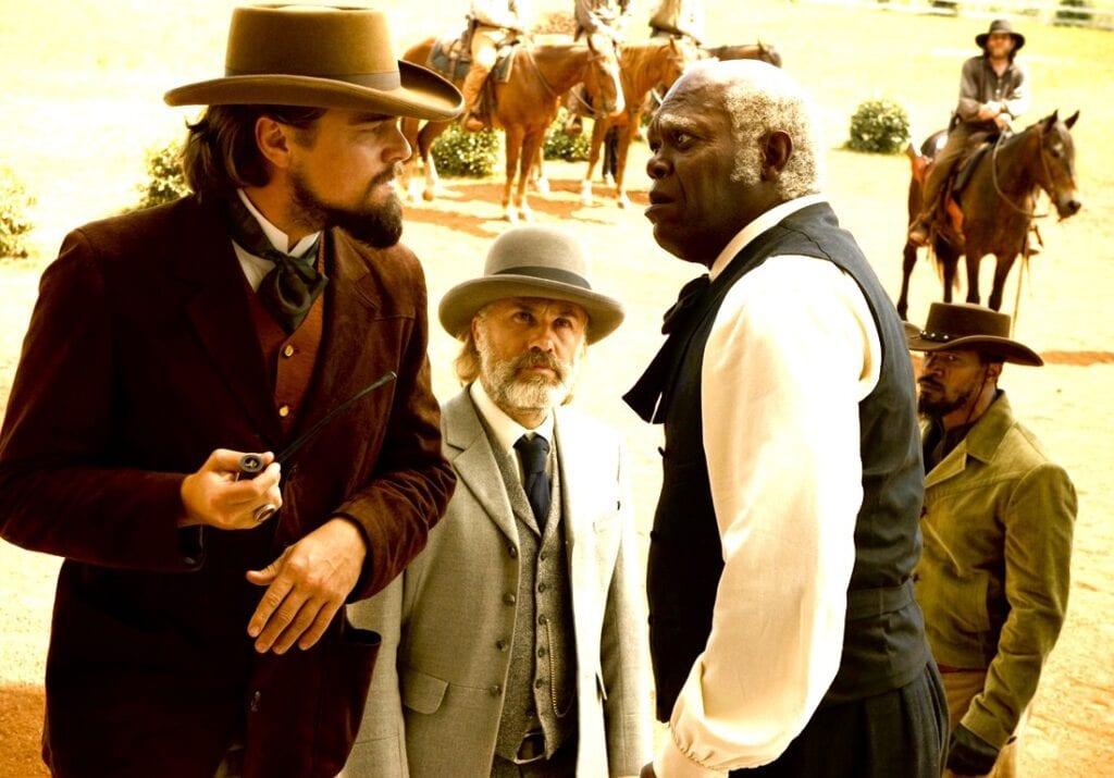 Leonardo DiCaprio Samuel L. Jackson Django
