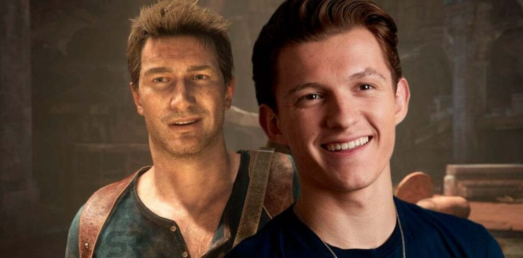 uncharted tom holland