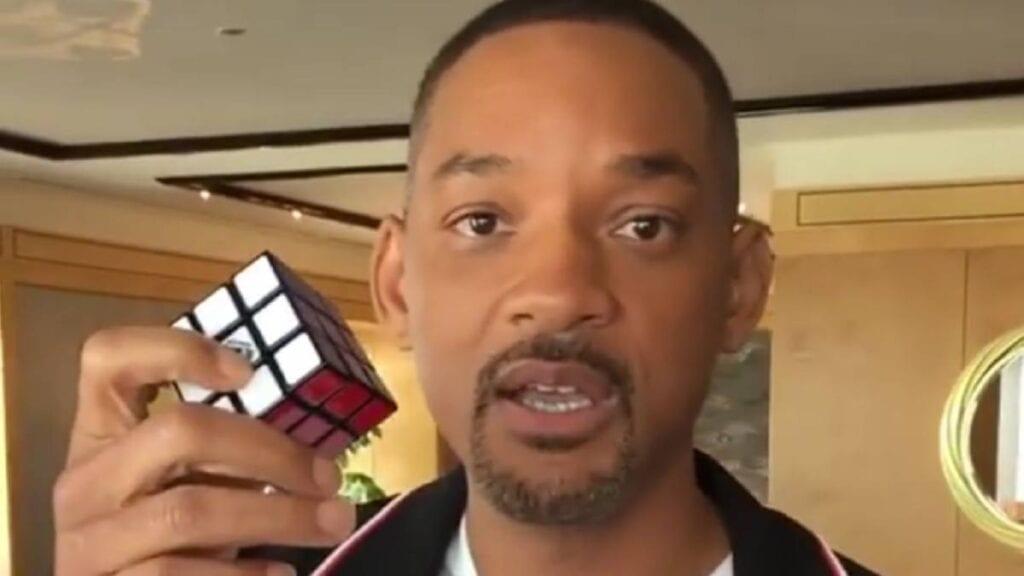 Will Smith cubo rubik