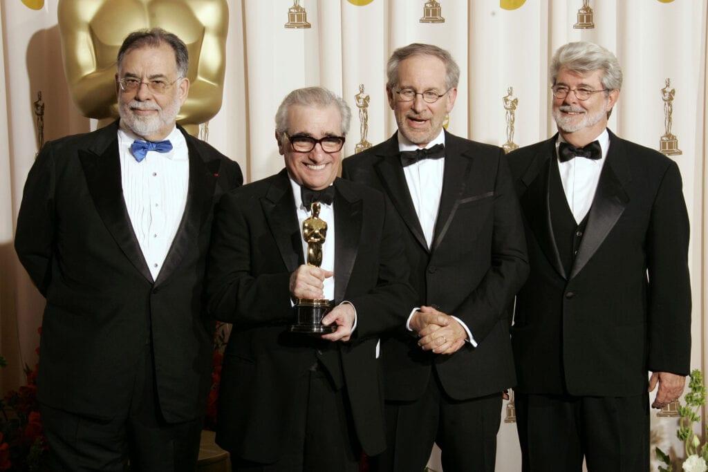 Martin Scorsese Francis Ford Coppola Steven Spielberg George Lucas