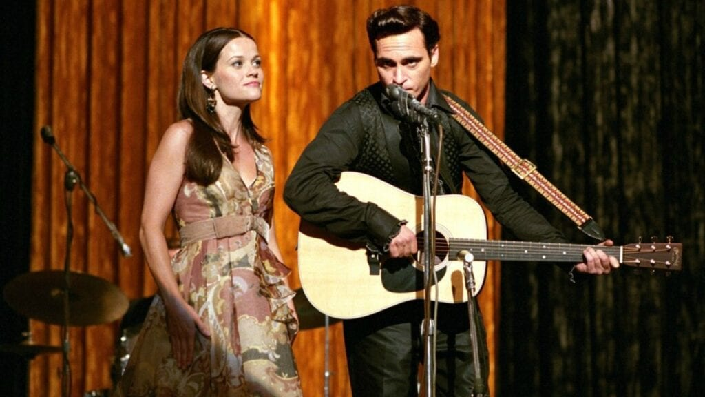 Joaquín Phoenix Reese Witherspoon Walk the line