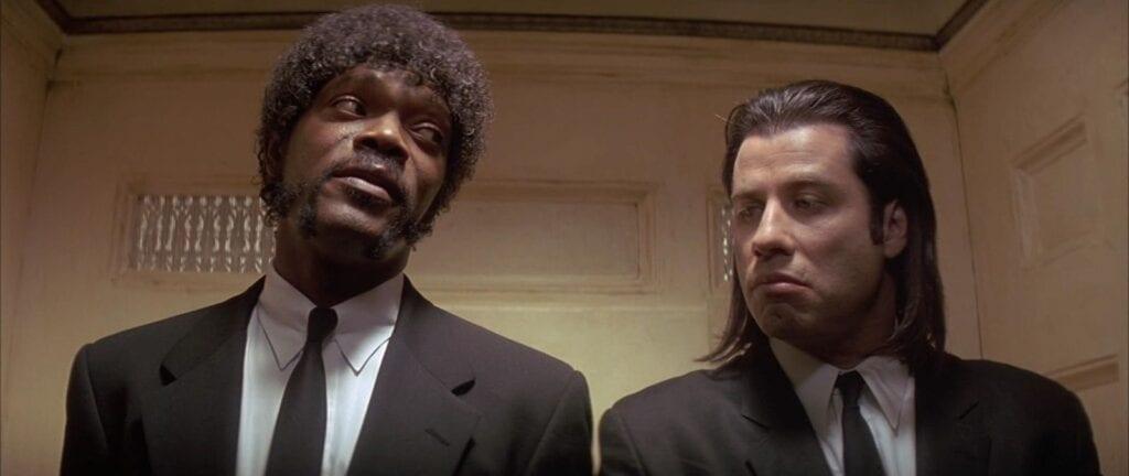 Samuel l Jackson John Travolta Pulp Fiction