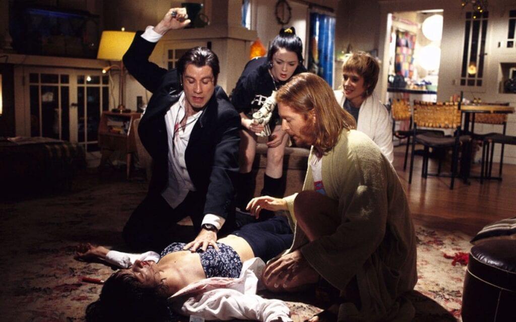 Pulp Fiction Jeringa escena