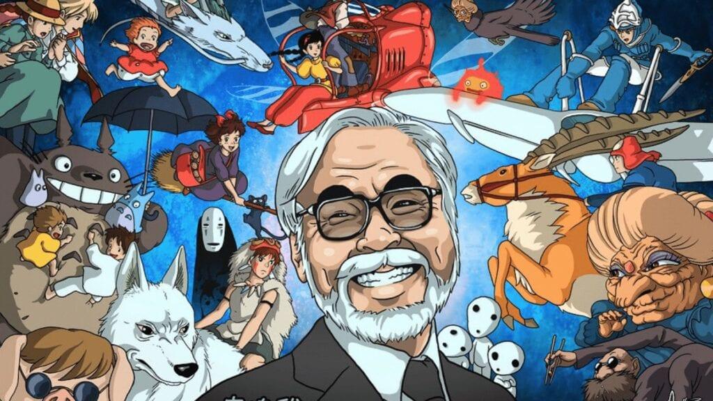 Hayao Miyazaki Studio Ghibli