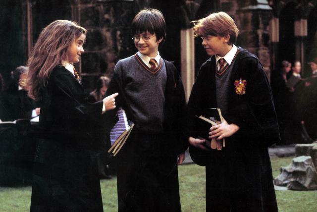 Daniel Radcliffe Rupert Grint Emma Watson