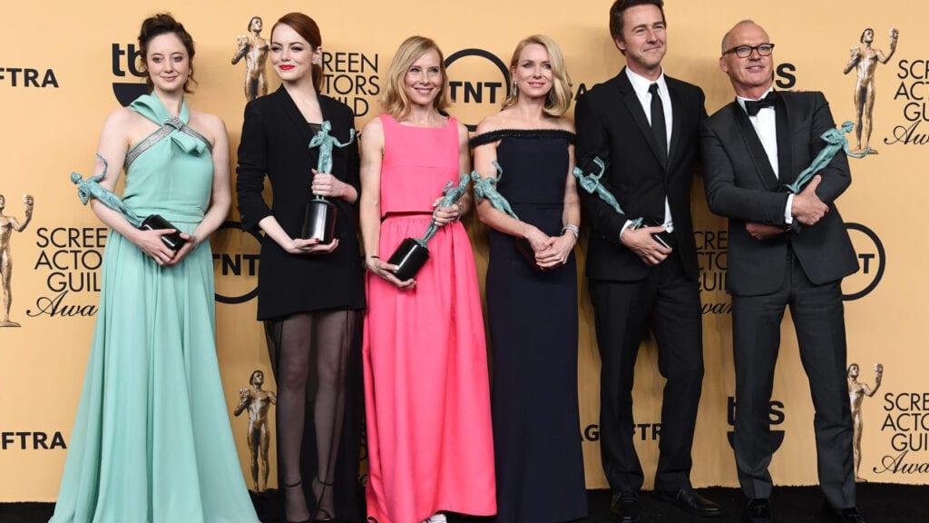 Emma Stone, Amy Ryan, Naomi Watts, Edward Norton y Michael Keaton