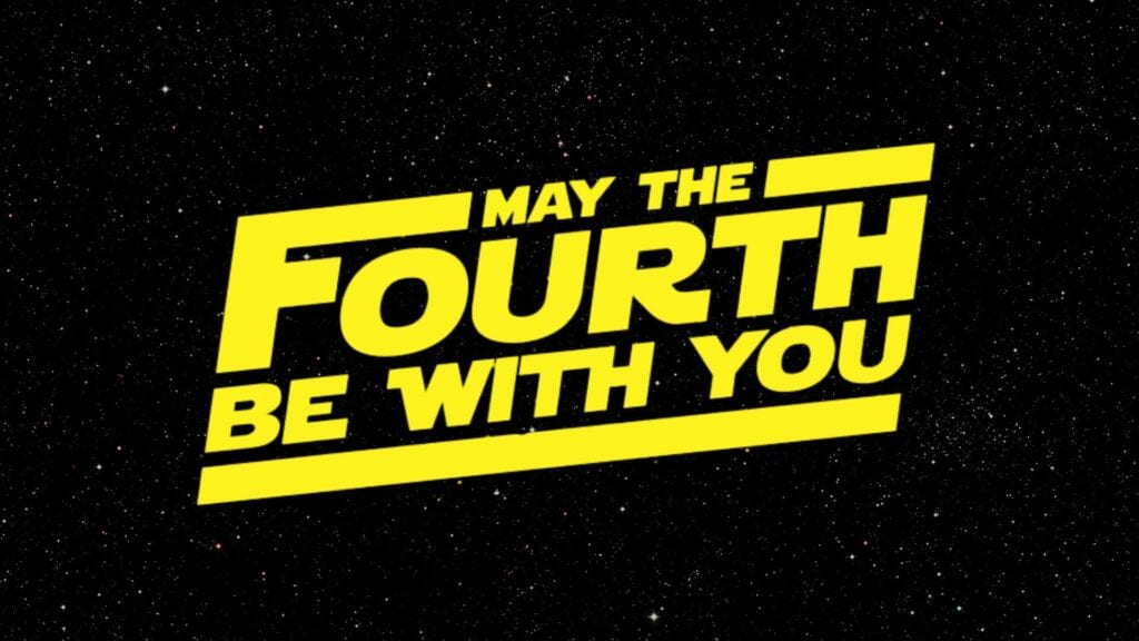 may the force be with you star wars