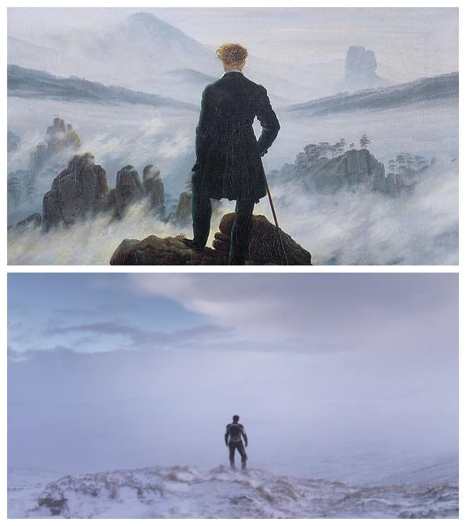 Under The Skin Wanderer Above The Sea Of Fog