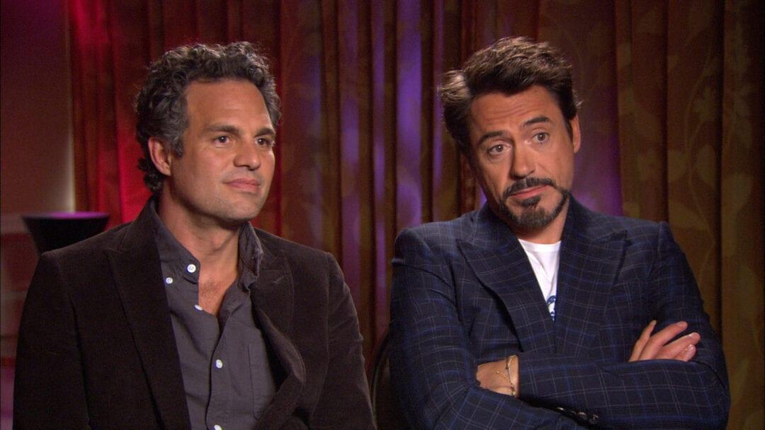Robert Downey Jr Mark Ruffalo avengers