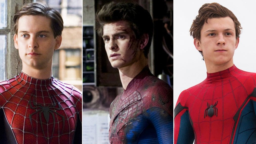 Tobey Maguire, Andrew Garfield Tom Holland