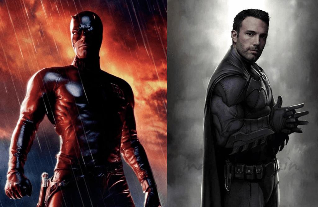 DC y Marvel: ben affleck