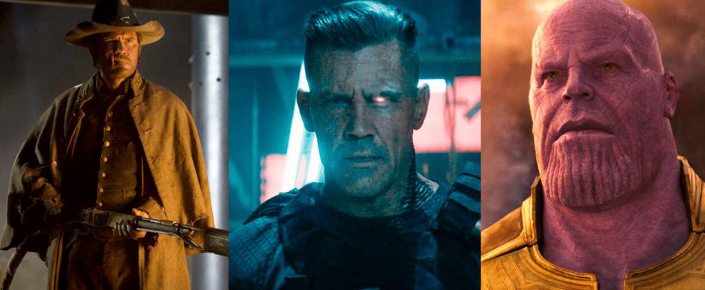 DC y Marvel: josh brolin