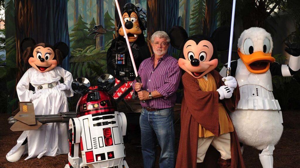 George Lucas en Disney