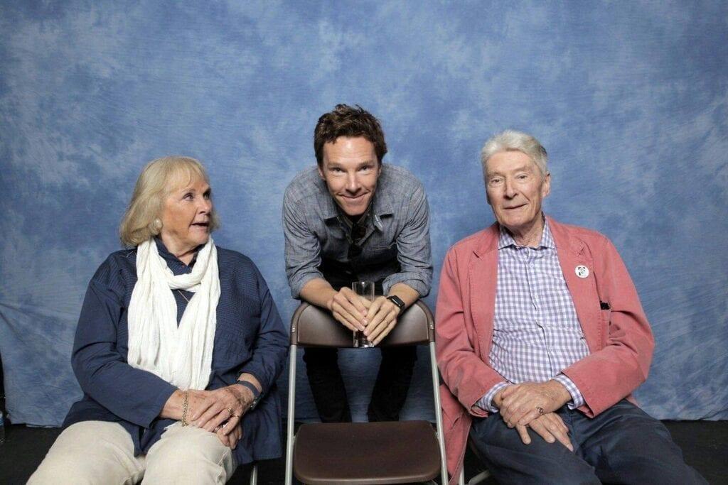 benedict cumberbatch y sus padres