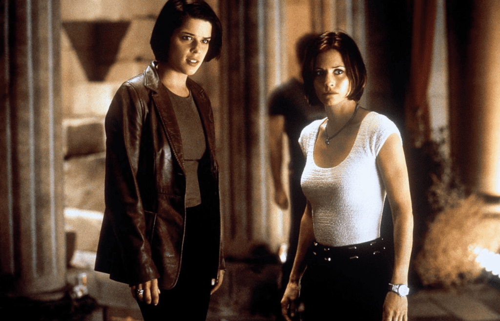 scream neve campbell y courteney cox