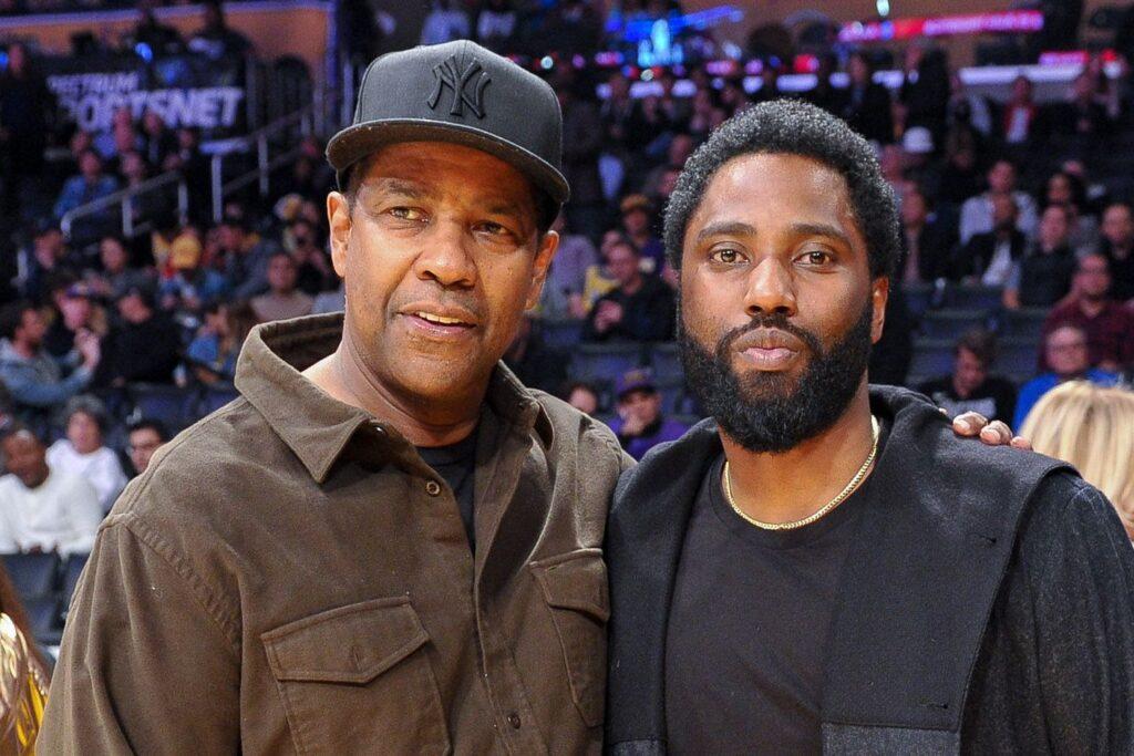 John David y Denzel Washington