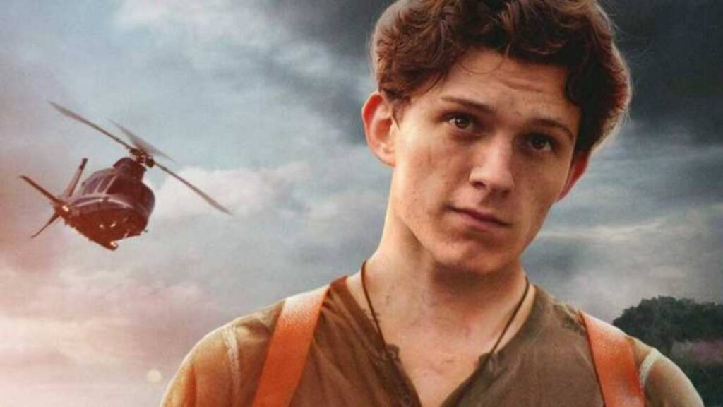 tom holland uncharted